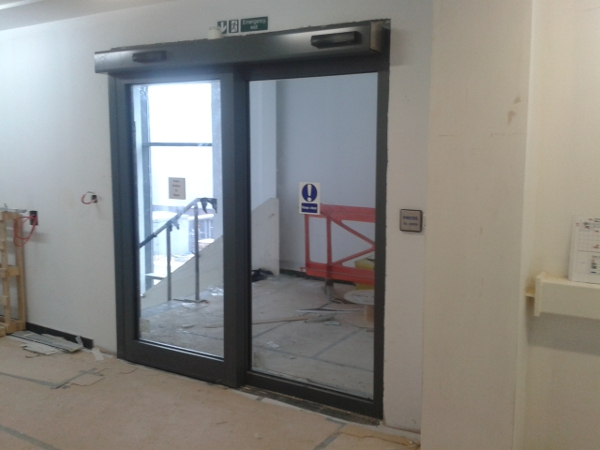 Fire Rated Windows Automatic Doors